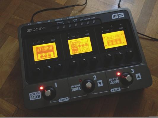 Zoom G3 pedal multiefectos. (envio gratuito)