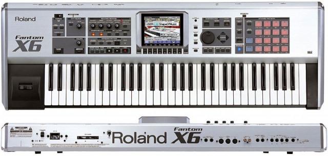 Roland Fantom X6 estación de trabajo