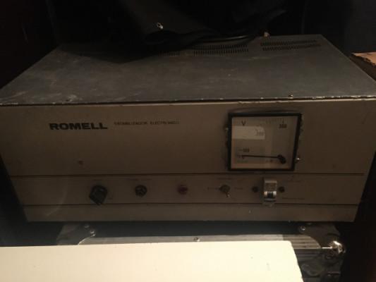Estabilizador corriente Romell
