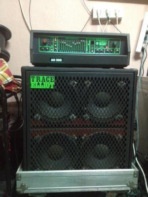 TRACEY ELLIOT BASS 300 WATIOS