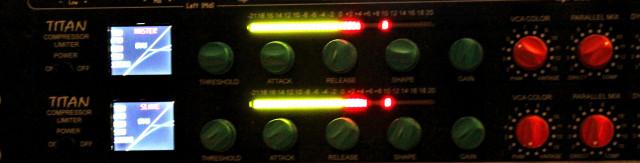 2 x Compresores Mastering Dave Hill Titan (RESERVADOS)