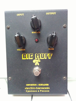 Big Muff Black Russian V8
