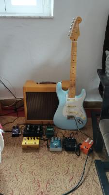 Golpeador completo y puente de una Fender vintera 50