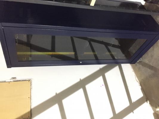 Mueble rack metalico de 34 unidades