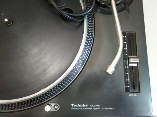 PLATO GIRADISCOS TECHNICS 1210 MK2