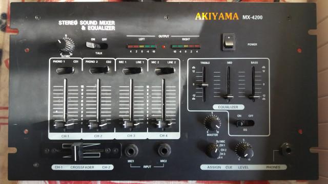 Mesa mezclas AKIYAMA MX 4200