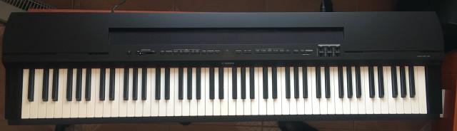 Piano Yamaha P-255B en garantía
