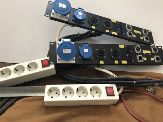 Patch Panel Para rack etapas (2 unidades)
