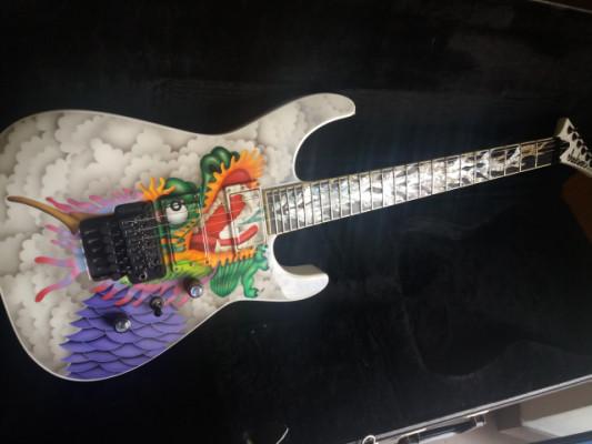 Jackson Soloist Custom Made in USA limited edition Dragon Fire