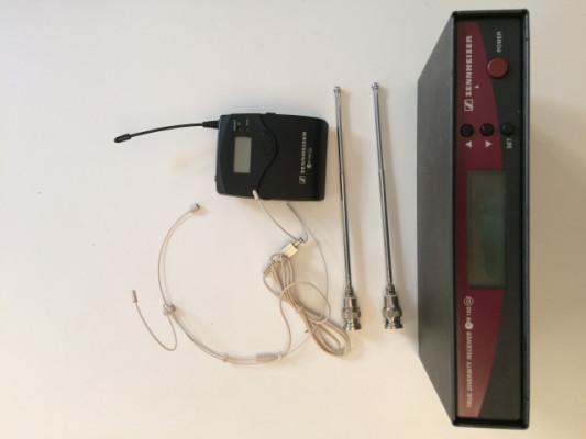 Sennheiser micro inalámbrico petaca + diadema