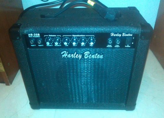 Amplificador de bajo Harley Benton 20w
