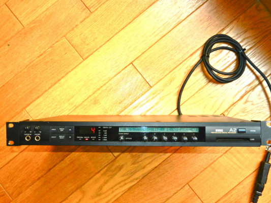 Korg A2+Korg FC6 foot controller+Korg FC6A cable