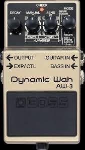 Boss AW-3 Dynamic Wah.
