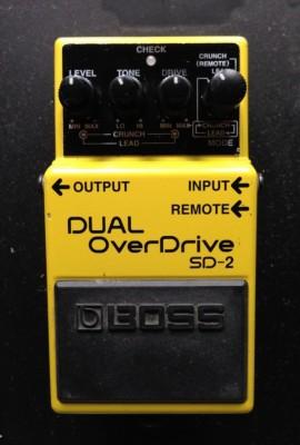 BOSS Dual OverDrive SD 2