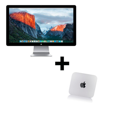 "Conjunto Mac mini i5 a 2,6+Cinema Display 27"""
