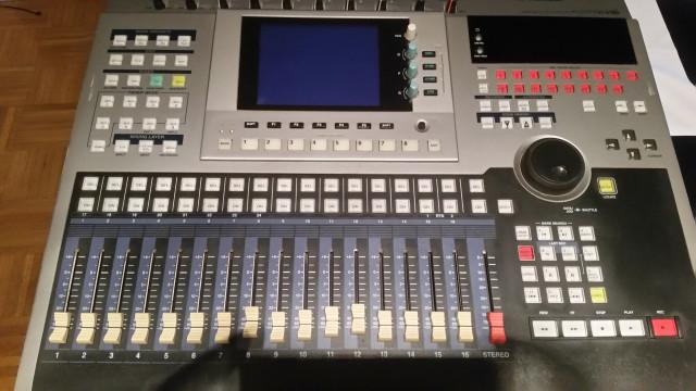 Yamaha AW4416 + MY8AD24 + WAVES Y56K