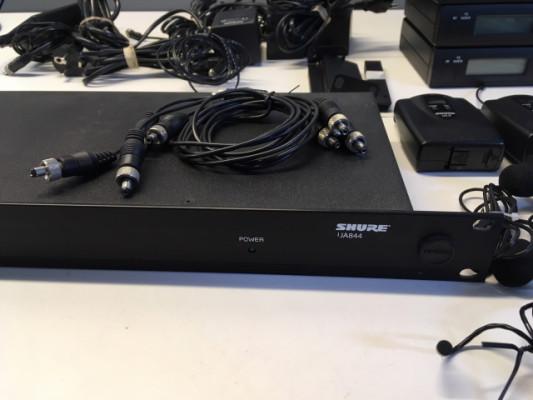 Sistemas microfonía shure inalámbricos