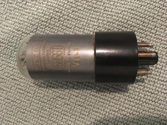 Valvulas NOS 6v6 y rectificadora RCA ¿cambios?