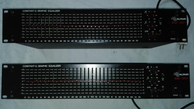 Ecualizadores Altair 301