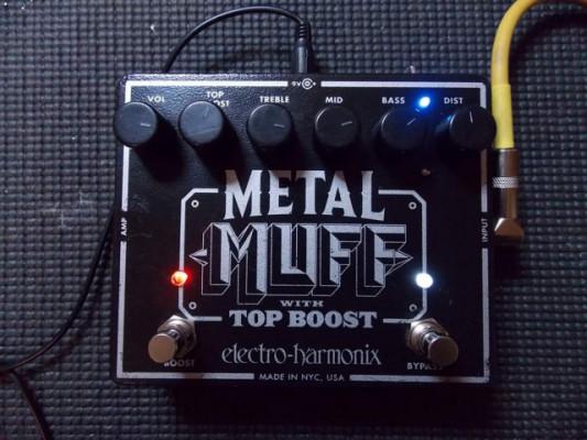 EHX METAL MUFF - JCM800 AND FUZZY DIST - AV CUSTOM BOUTIQUE MODS ¡Recogida y envío gratis!
