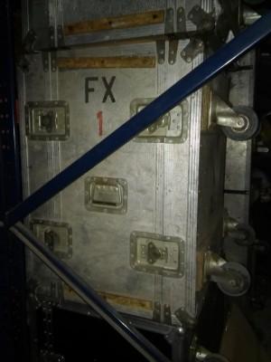 fligh case rack para efectos o etapas