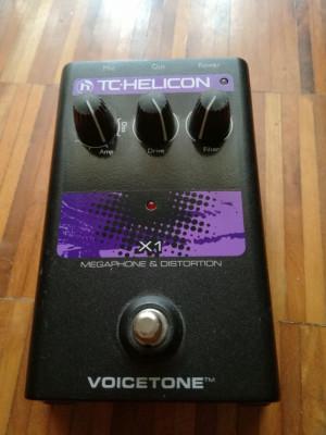 Vendo TC-Helicon Voicetone X1 Megaphone & Distortion.