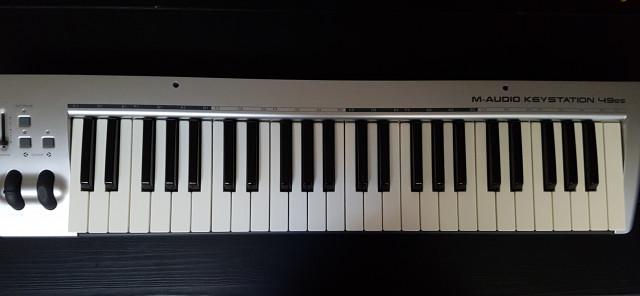 Teclado. Controlador M Audio Keystation 49ES