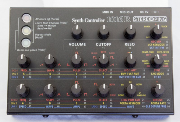 Synth Controller CE-1 Edition 1016R para Matrix 1000/6/6R
