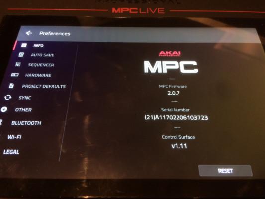 MPC Live vendo o cambio