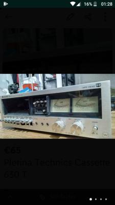 Pletina tachnics 630T i Pletina Lenco CD 300