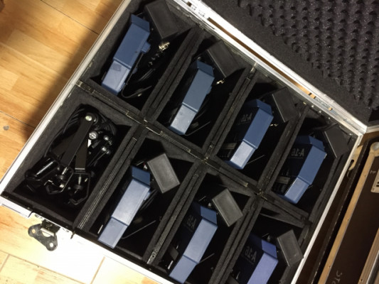 AVIOM, sistema completo 7 mezcladores