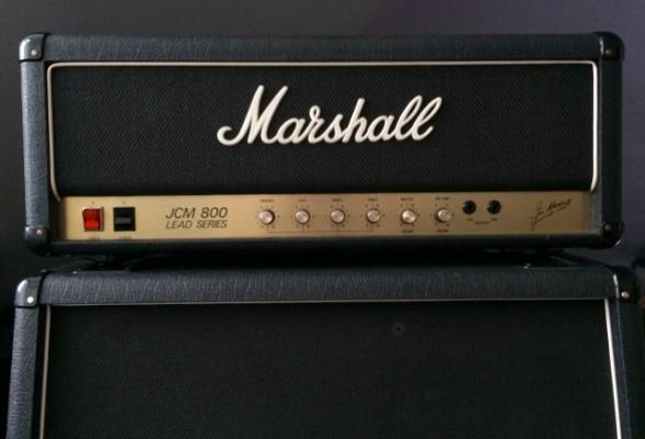 JCM 800 2204 + 1960A 4x12 Marshall