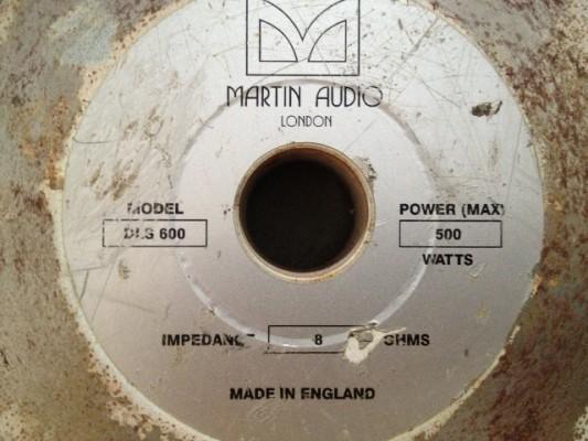 Martin Audio LE400B con Martin DLS 600