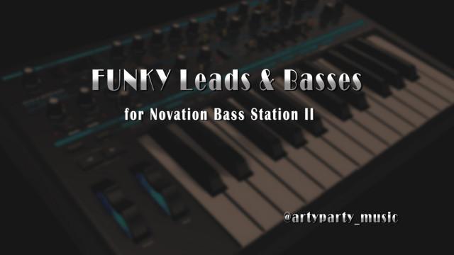 FUNKY Leads & Basses para Novation Bass Station 2