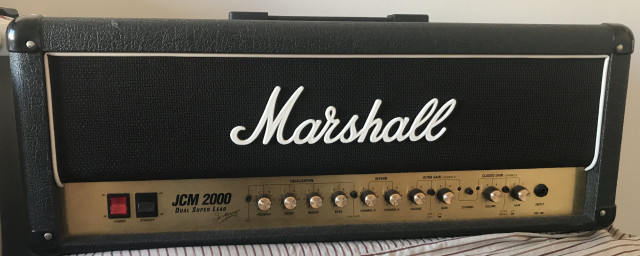 Cabezal Marshall JCM2000 DSL 100