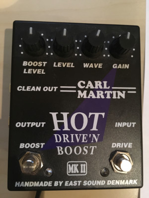 Pedal distortion Carl Martin Hot Driven boost