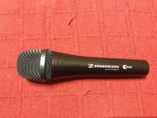Micrófono dinámico Sennheiser E945 especifico para Voz