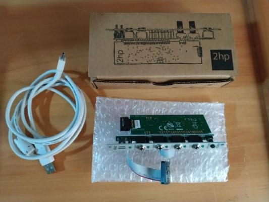 Modulos EURORACK - 2hp MIDI Interface/Doepfer A-138u