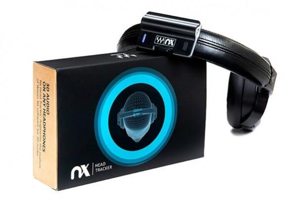 NX HEAD TRACKER + Plugin Waves NX - Mix Room