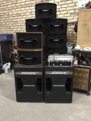 Equipo de sonido Bose