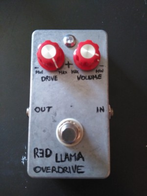 Red llama overdrive clone