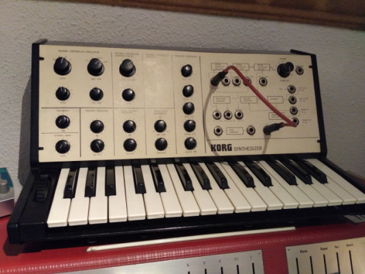 Sintetizador Korg MS10