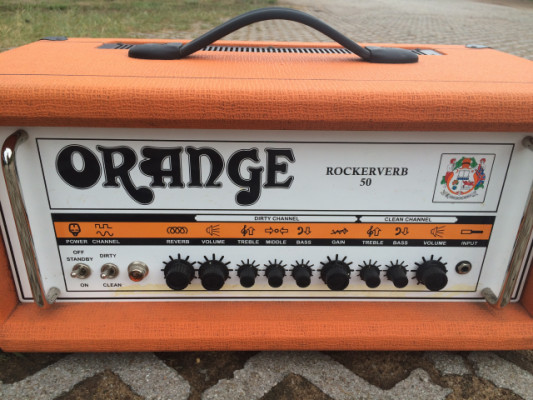 O vendo (REBAJA),  ORANGE rockerverb 50 w.