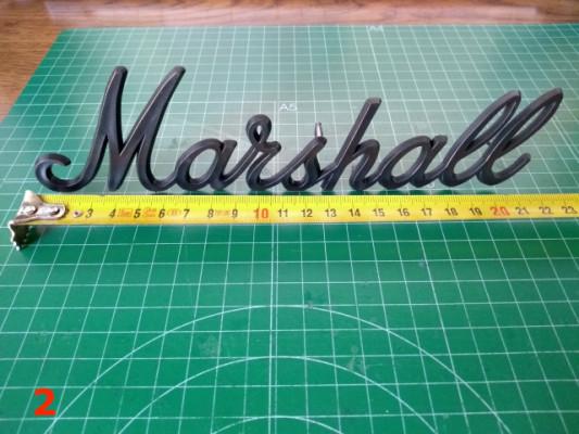 Logos Marshall originales