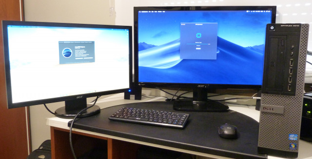 Hackintosh Dell i7 4 núcleos 32 Gb Mac OSX  Mojave SSD 250