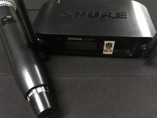 Shure GLXD4 SM 58