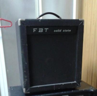 FBT amplificador vintage italiano