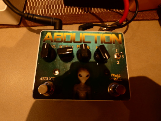 Alien abduction Pedal Overdrive/distorsión