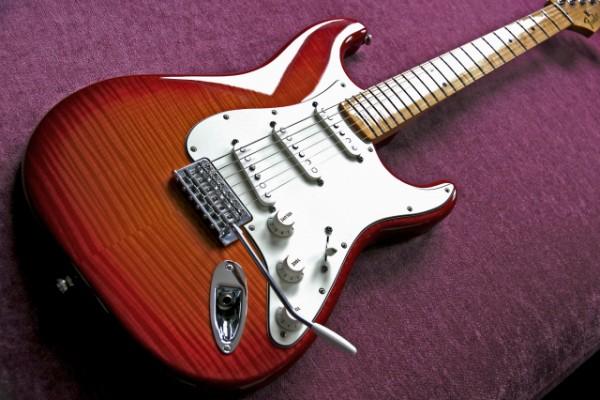 Fender stratocaster Standard Plus Top