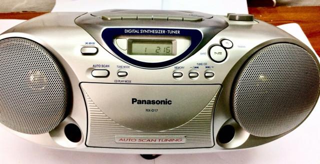 Panasonic Boombox Radio Cassette RX-D17